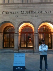 CHRYSLER MUSEUM OF ART IN NORFOLK, VA