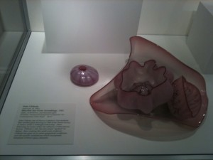 DALE CHIHULLY'S BLOWN GLASS EXHIBITED AT THE CHRYSLER MUSEUM