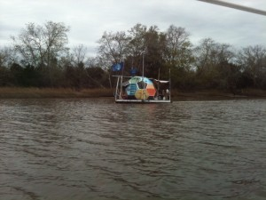 Eco-friendly watercraft/weirdest thing we've seen on the water