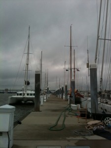 Mega Dock at Charleston City Marina/15 minute walk to marina office