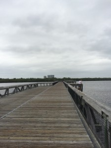 Board walk across Lake Worth Cove