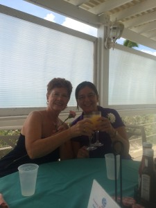 Jean, Sue, and endless mimosas.