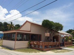 The Wrecking Tree Restaurant-  Serves the best cracked conch in the Abacos (in our opinion)