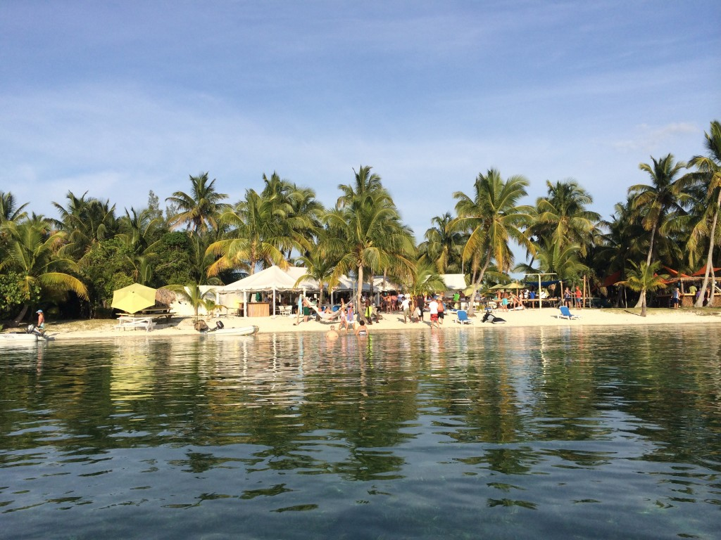 Grabbers in Fishers Bay on Great Guana Cay